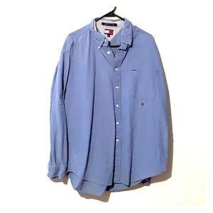 Light blue Tommy Hilfiger button up shirt